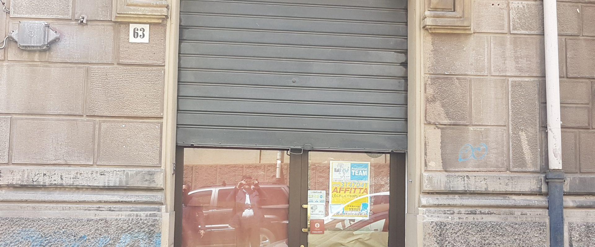 Locale commerciale ristrutturato in affitto pressi Via dei Verdi