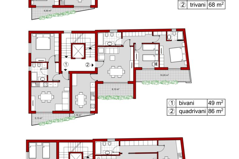 Nuovi appartamenti in vendita Via Torrente trapani