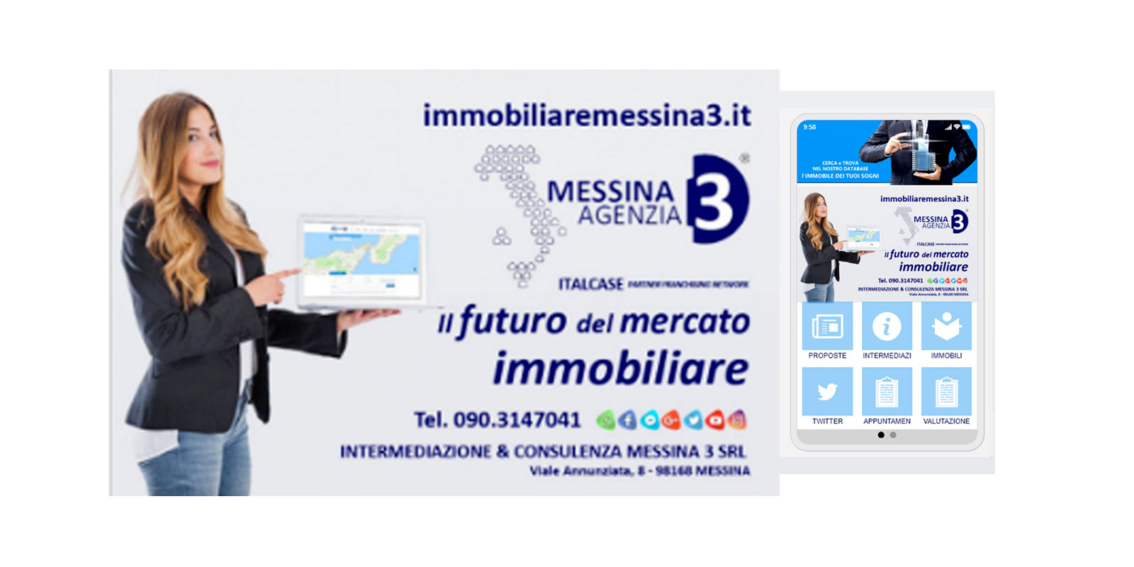 Messina3 App mobile